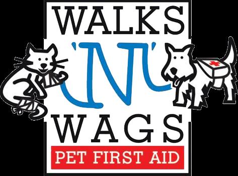 Walks N' Wags pet first aid logo